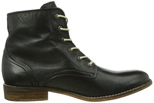 Boots Mustang femme Noir Schwarz 9 Booty Schnür qCCAwxSpE
