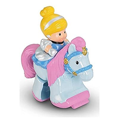 Fisher Price Little People Disney Princess Kilp Klop Stable Replacement Cinderella Blue Horse Loose/Repackaged