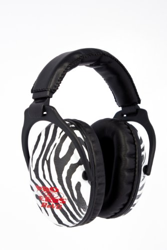 Pro Ears - ReVO - Hearing Protection - NRR 25 - Youth and Women Ear Muffs - (Youth Zebra)