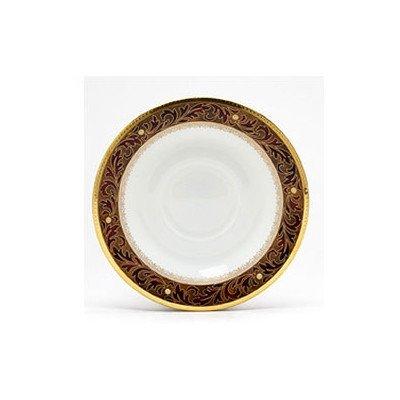 Xavier Gold Dinnerware - Noritake Xavier Gold Saucer