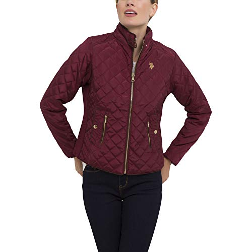 ns Quilted Side Knit Midweight Jacket - Pinot Noir Red, Large ()