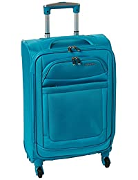 American Tourister Ilite Max Softside Spinner 21 Carry On Luggage, Light Blue