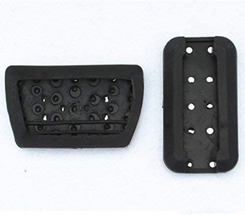 WANWU Car Foot Gas Brake Pedal Pad Cover for Honda Civic Accord CRV Jade Elysion Odyssey