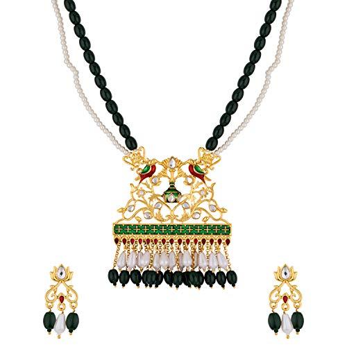 Voylla Noor-Jahan Masnad Necklace Set for Women
