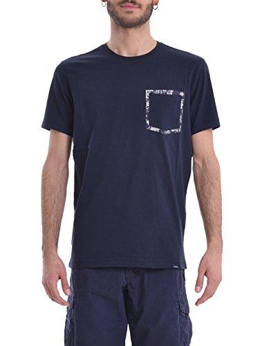 Woolrich Blu Wotee1129 Uomo T shirt n0xqw7zFa0