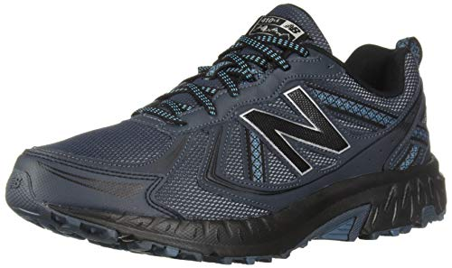 New Balance Men's 410v5 Cushioning Trail Running Shoe, Petrol/Cadet/Black, 7.5 D US by New Balance (Image #1)