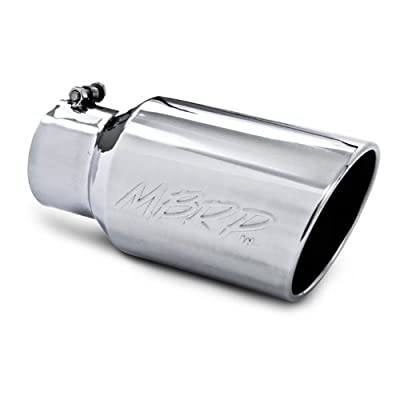 """MBRP T5073 12"""" Angled Rolled End Exhaust Tip"""