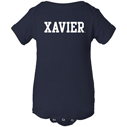 Yc01   Xavier Musketeers Basic Block Creeper   Newborn   Navy
