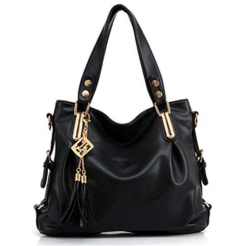 Womens Designer Purses and Handbags Ladies Shoulder Bags Top-Handle Satchel Tote Bags Purse (Decorated Purse)