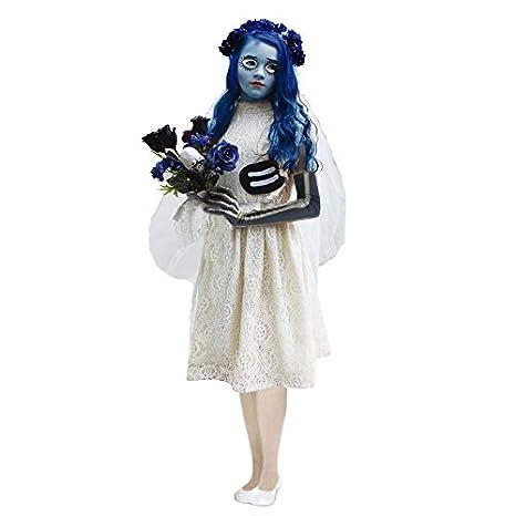 Disfraz Novia Cadáver para niña (4-6 años): Amazon.es: Juguetes y ...