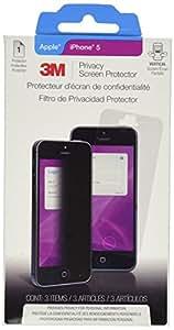 3M MPF828786 - Protector de pantalla (Apple, Teléfono móvil/smartphone, Negro, Transparente)