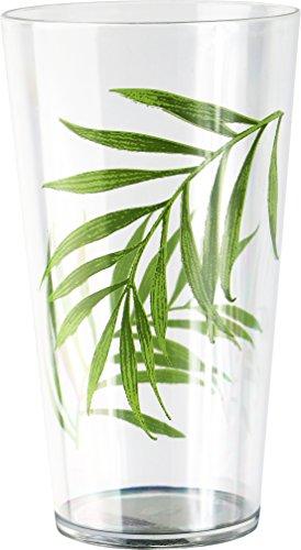 Corelle Coordinates - Vasos de zumo acrílico, hoja de bambú, Vidrio acrílico de hoja de bambú, Hoja de bambú, Vaso, 1