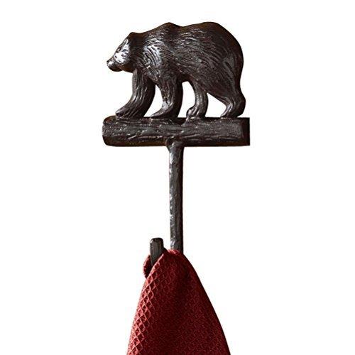 - Park Designs, Cast Bear Single Hook Burl