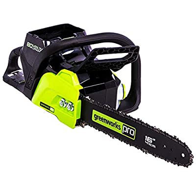 Morocca GreenWorks CS80L01 80-Volt 16-Inch Heavy Duty Chainsaw - Bare Tool - 2004202