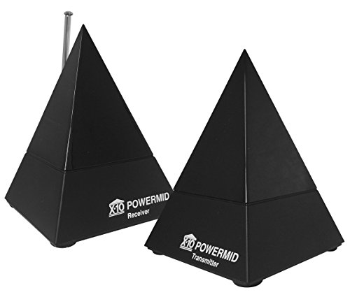 X10 Powermid PM5900 Remote Control Extender Kit - Includes a Transmitter and Receiver - (Infrared Only No Video)