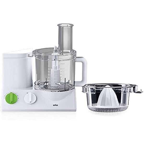 Braun FP3020 Robot de cocina, 600 W, plástico, color blanco ...