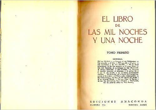 Book EL LIBRO DE LAS MIL NOCHES Y UNA NOCHE.