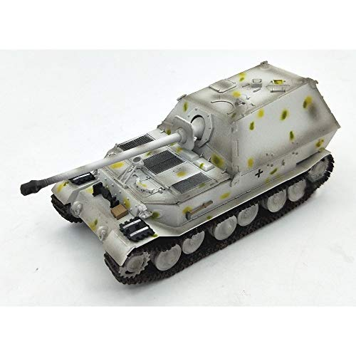 (Marrsto 1:72 German Ferdinand Heavy Tank Model Kursk Snow Coated Trumpet Player)