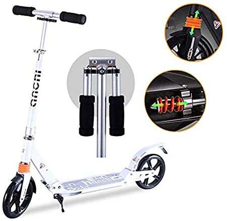 Scooter Para Adultos Ruedas Grandes, Adultos Plegable ...