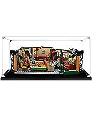 Hosdiy Acryl Vitrine Display Case voor Lego 21319 Friends Central Perk - Display Case Vitrine ( Alleen Vitrine, Zonder Lego Model )