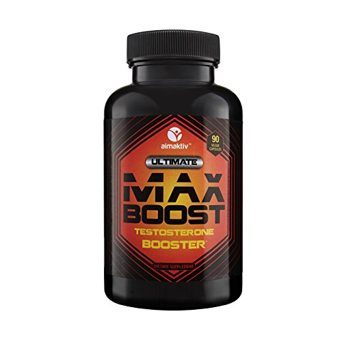Testosterone Booster for Men. Supports Muscle Growth & Fat Loss. Estrogen Blocker. Promotes Strength, Energy, Stamina, Libido, Training, Recovery, Vitality & Sleep. 90 caps.
