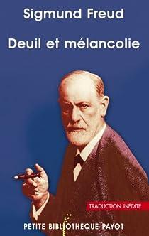 Deuil et mélancolie par Freud