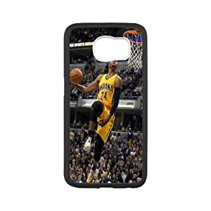 Generic NBA All Star Indiana Pacers Paul George Plastic Case for SamSung Galaxy S6 Edge