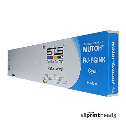 交換用カートリッジMutoh水性B、C、M、Y、LC、LM ) 440 ml rj-fgink-2 B077TDL7QG