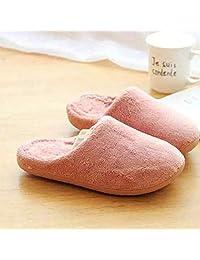 ZYGAJ International Minimalist Home Slippers Women's Warm Shoes Bedroom Love Cotton Scorpion Couple Slide Indoor Slippers