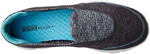 Skechers rendimiento GB marcha 3 Elevate zapatillas de senderismo Charcoal-Blue
