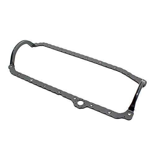 Assault Racing Products 7603 SBC Chevy Rubber 1 Piece Oil Pan Gasket 1-Piece Rear Main 86-99 (Oil Pan Gasket 1 Piece)