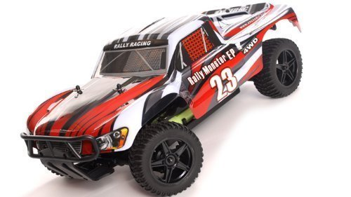 1/10 2.4Ghz Exceed RC Electric Rally Monster RTR Off Road Rally Truck Stripe - Game Rally Rc