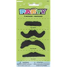 Fake Mustaches, 4ct