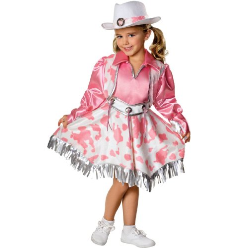 Girl Cowgirl Costumes (Western Diva Child Costume Size Medium)