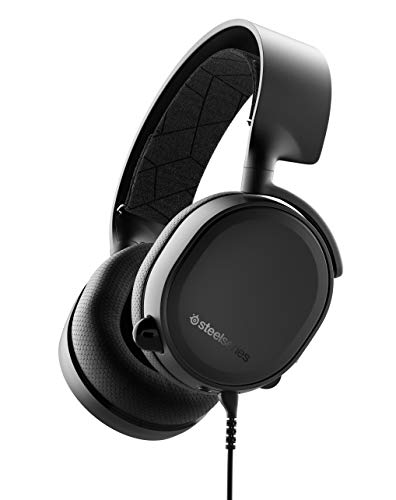 Design Shifted - SteelSeries Arctis 3 (2019 Edition) All-Platform Gaming Headset for PC, PlayStation 4, Xbox One, Nintendo Switch, VR, Android, and Ios - Black