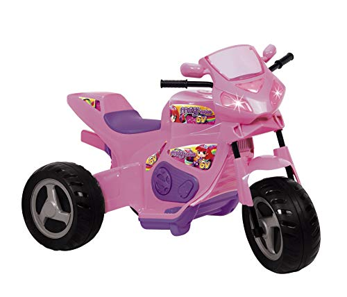 Moto Meg Turbo 6V Magic Toys Rosa