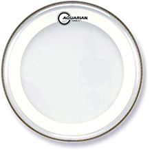 Aquarian Drumheads MRS2-16 Super-2 Clear with Studio-X Ring 16-inch Tom Tom Drum Head