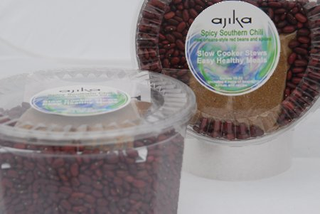 Ajika Southwestern Black Bean Chili Meal Kit and Seasonings, 2.2-Pound