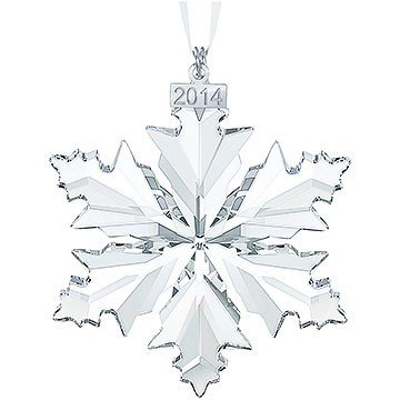 Swarovski Annual Edition 2014 Crystal Snowflake Ornament
