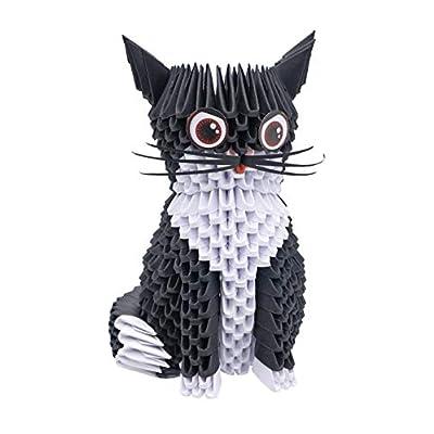 CreativaMente Creagami Cat, Multicoloured, 733: Toys & Games