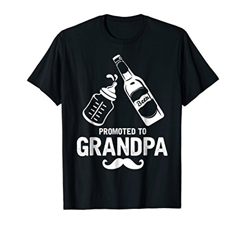 Grandpa Gifts First Time Dad Promoted to Grandpa T-Shirt