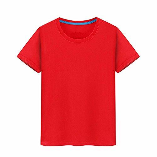 T La Serie 100 Stampa Nuova T Xiaogege Semi Pari Custom Vestiti Rossa L shirts Creativa Abbigliamento T Foto shirt manicotto Cotone YdOwnqH