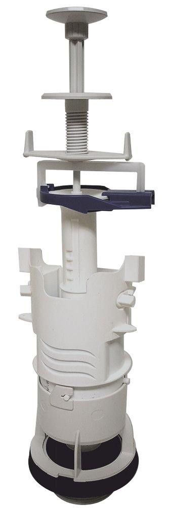 Regiplast 3000B - Batteria di scarico semplice con comando a tirante, colore bianco
