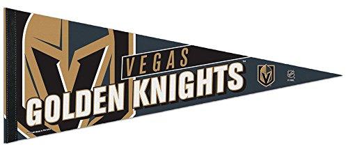 Premium Felt Pennant (NHL Vegas Golden Knights Premium Pennant, 12 x 30 inches, felt)