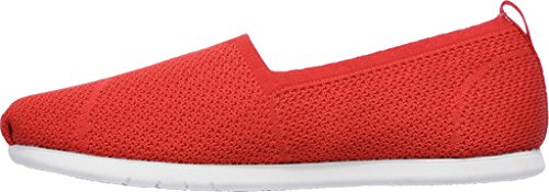 con SkechersPlush donna Built Red Zeppa Lite Custom Sandali HHIx1Uq