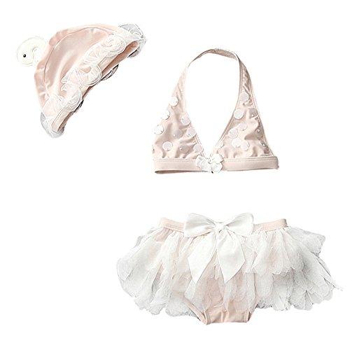 New 2 Piece Girls Swimsuit - 8