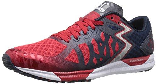 361 Men's Chaser-M Running Shoe, Chi/Midnight, 9.5 M US