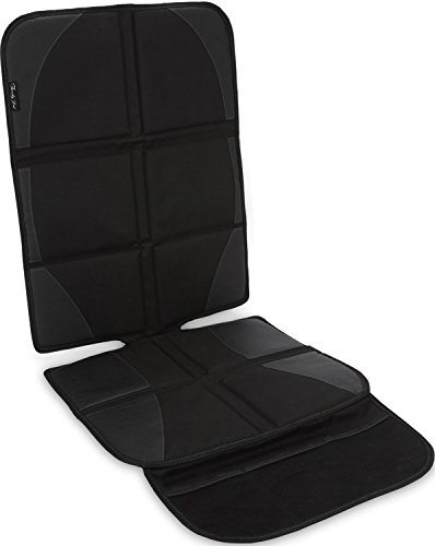 Infant Rear Facing Car Seat Cover - Car Seat Protector By Family First | Saver Cover Mat For Back Seat Leather Upholstery | Pad Front or Rear Facing Child Baby Carseats Booster Seats Travel