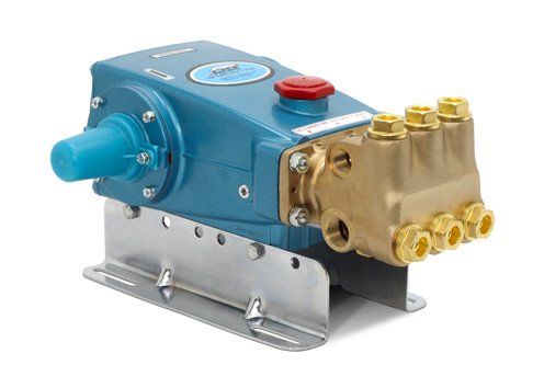 Cat Pumps 660-660 - 15-Frame Plunger Pump - 10 gpm, 3000 psi, 1429 rpm, Belt-Drive, Nickel Aluminum Bronze