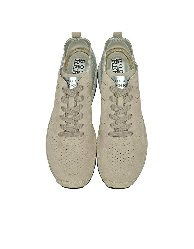 Hogan Sneakers Donna HXW3180X610FXZ384N Camoscio Beige